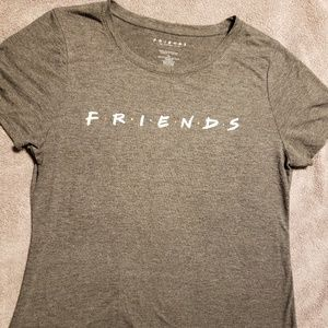 Friends grey heathered basic t-shirt